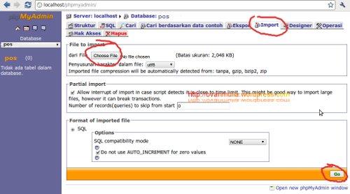 Phppos, Aplikasi OpenSource untuk Kasir (2/5)